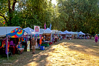 Vendors in Music Meadow, ​Kate Wolf Music Festival, 2010