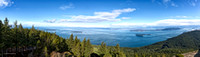 View from top of Mount Constitution,  Orcas Island, WA, February 12, 2016