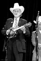 Bill Monroe, the Father of Bluegrass,  Strawberry Music Festival, Fall, 1985