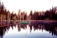 Birch Lake Early Morning, ​Strawberry Spring, 1991