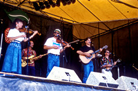 The Acousticats, Charl Ann Gastineau, Rick Borella, Phil Salazar, Cyrus Clark, Mike Mullins, Strawberry Music Festival, Spring, 1992