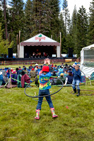 Hula Hooping in Music Meadow, ​Strawberry Music Festival, Spring, 2010