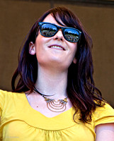 Girl on Stage, ​Strawberry Music Festival, Spring, 2010