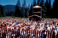 Soundboard and Spotlight Tower, Strawberry Music Festival,  Spring, 1986