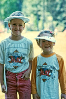 Young Festivarians,  ​Strawberry Music Festival, Spring, 1986