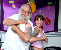 Tatoo Smackdown with Bill Hand & Tonya Hamlet, Strawberry Music Festival, Fall, 2005
