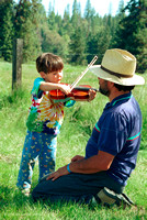 Fiddle Lesson, ​Strawberry Music Festival, Spring, 1992