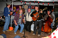 Hog Ranch Radio broadcast from Camp Remember, Chojo Jacques, Glenn Pomianek, Peter Tucker, Woody, Travis Jones, Chris Kee, Strawberry Music Festival, Fall, 2005