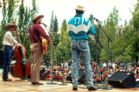 Riders in the Sky at the Birch Lake Stage, ​Strawberry Spring, 1990